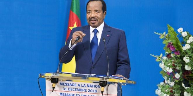 Voeux de fin d'annee: Adresse de Paul Biya a la nation