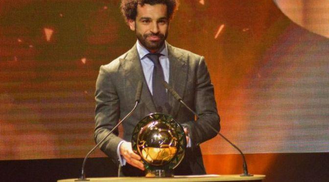 Mohamed Salah au sommet de l'Afrique