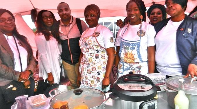 Festival des saveurs et senteurs du Ndé sur les bords de la Tamise