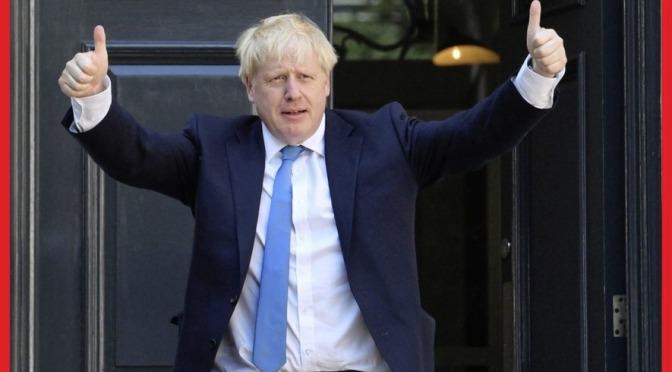 UK: Boris Johnson, le nouveau patron