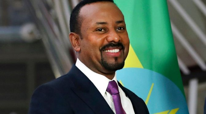 Breaking News – Afrique : l'Ethiopien Abiy Ahmed Prix Nobel de la Paix
