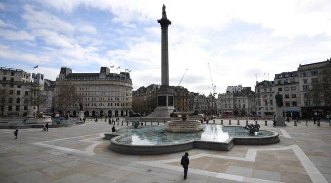 Covid-19: La Grande Bretagne au ralenti. Londres ville fantome