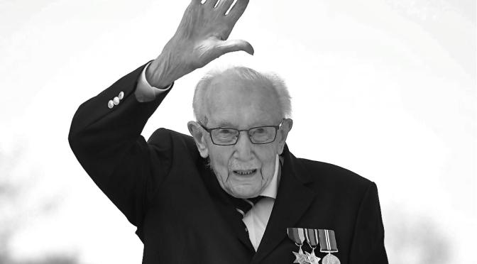 Royaume Uni : Hail Captain Sir Tom Moore
