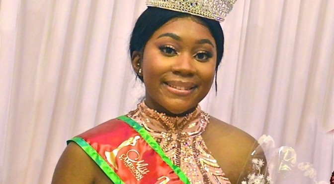 Monique Eyenga couronnée Miss Cameroon UK 2021